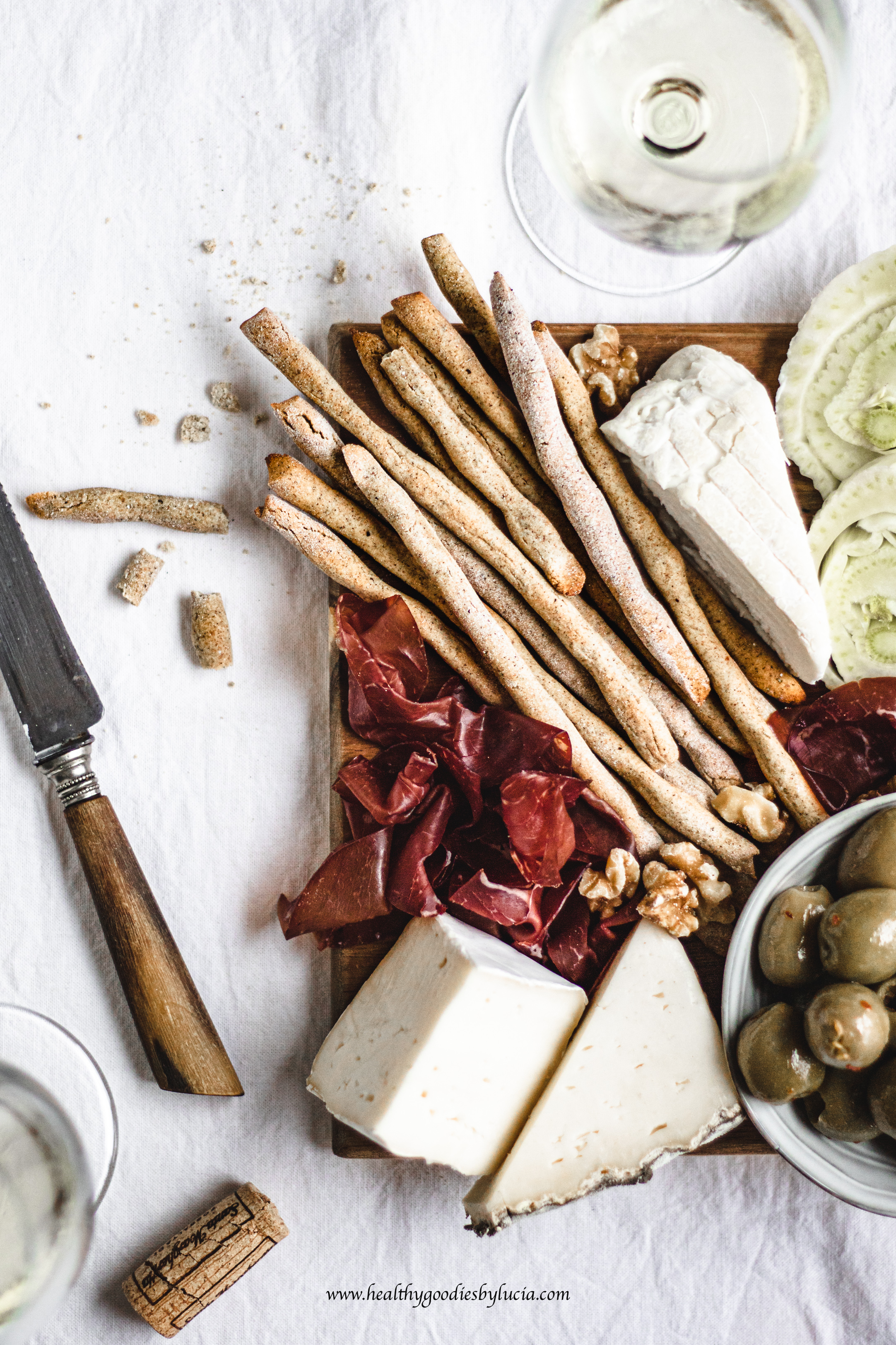 luten-free Grissini Breadsticks | Healthy Goodies by Lucia