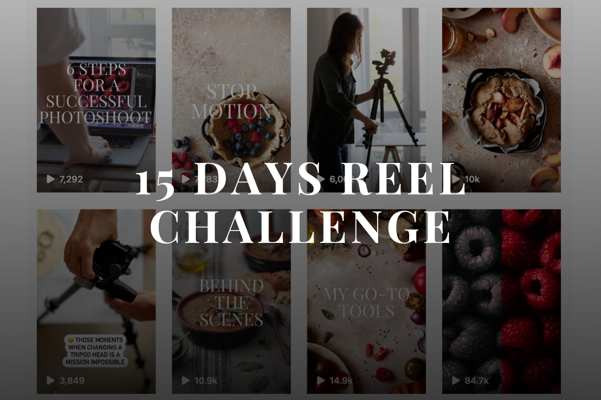 Reel challenge - Food Photography - healthy Goodies by Lucia